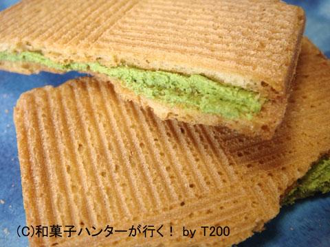 金沢うら田の抹茶クッキー「こい茶」 / 金沢和菓子 file 008