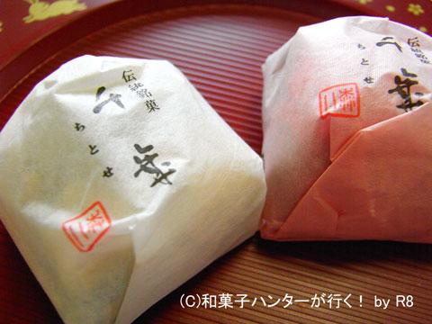 遠い記憶を呼び覚ました森八の千歳 / 金沢和菓子file 016
