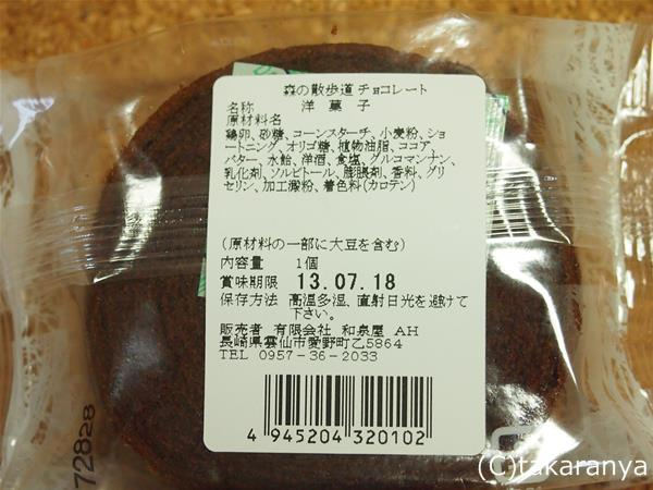 チョコバウム原材料