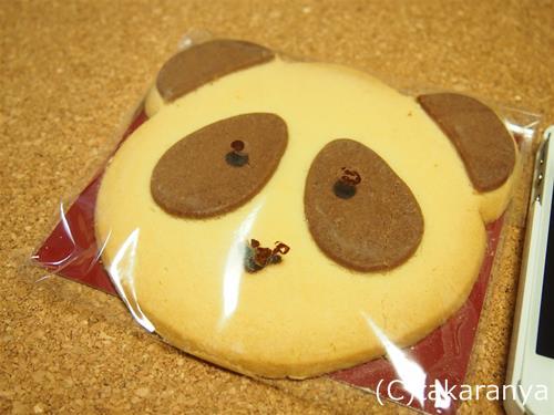 インパクトがあるパンダクッキー