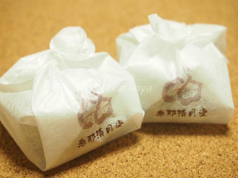風呂敷っぽい紙包み