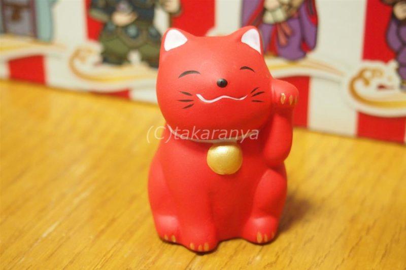 無病息災病よけの赤い招き猫