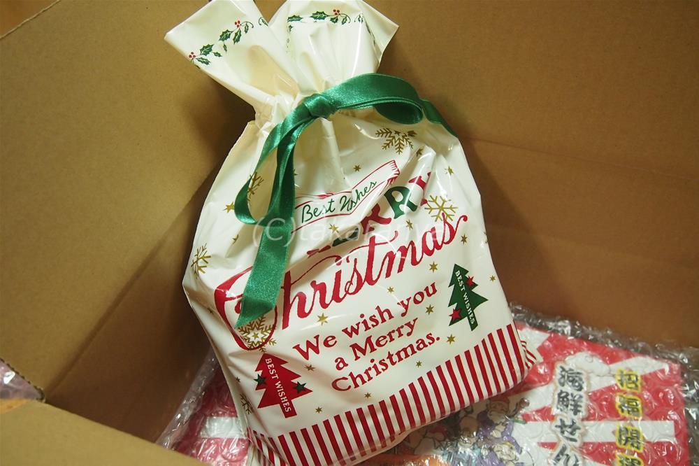 えびせん家族クリスマスセットをお取り寄せ