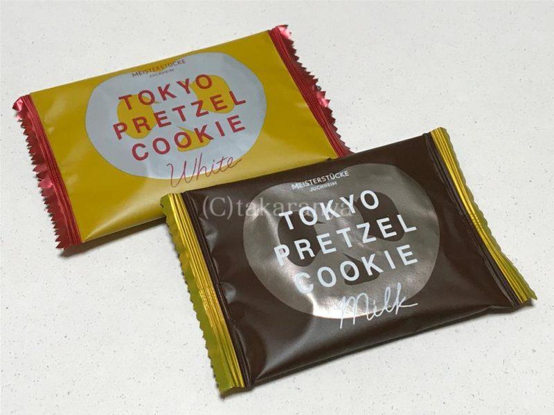 東京プレッツェルクッキーパッケージ
