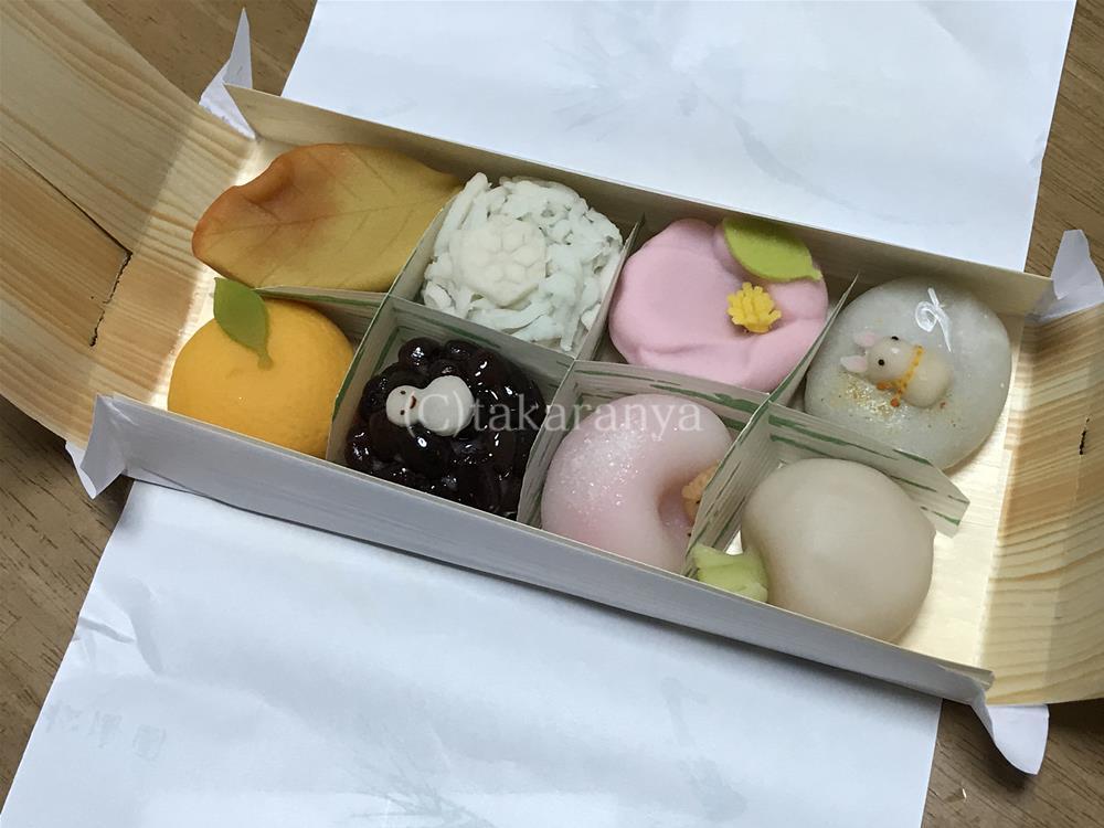 松涛園の上生菓子
